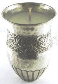 Sweet Cinnamon Scented Soy Wax Candle. Tumbler size approx 12cm x 8cm