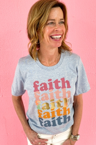 RETRO FAITH GRAPHC TEE