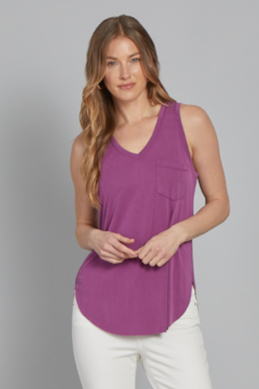 ANOTHER LOVE V-NECK TANK