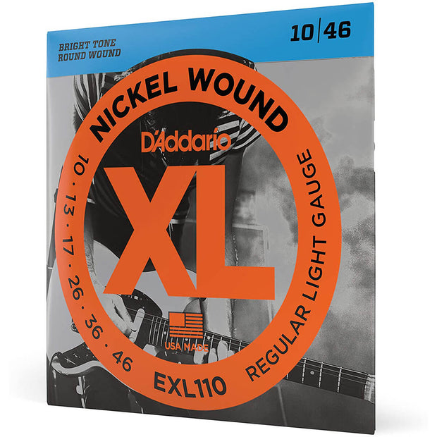 D'Addario Electric Guitar Strings - XL Reg Lite EXL110