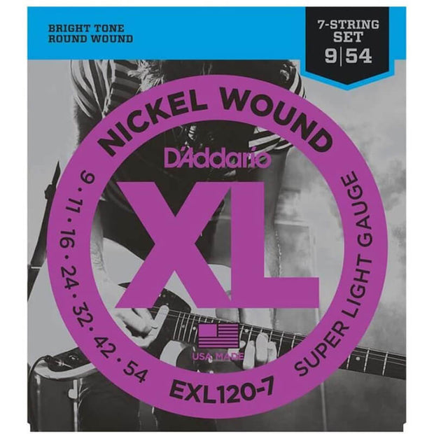 D'Addario Electric Guitar Strings - XL Sup Lite EXL120