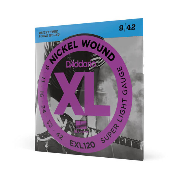 D'Addario Electric Guitar Strings - EXL120