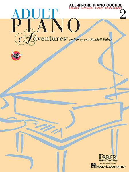 HL Adult Piano Adventures All In One Course Book 2
