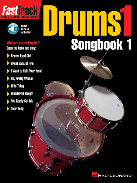 HL Fast Track Drums Songbook 1 Audio Access