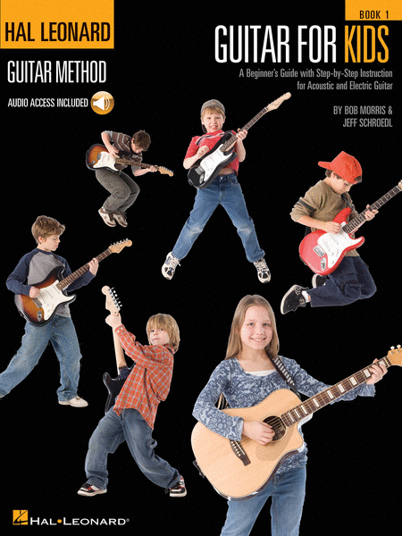 HL Guitar Method for Kids Book 1 Audio Access