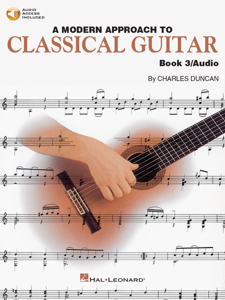 HL A Modern Approach to Classical Guitar Book 3