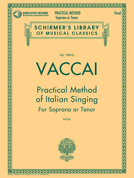 HL Practical Method Of Singing - Soprano or Tenor