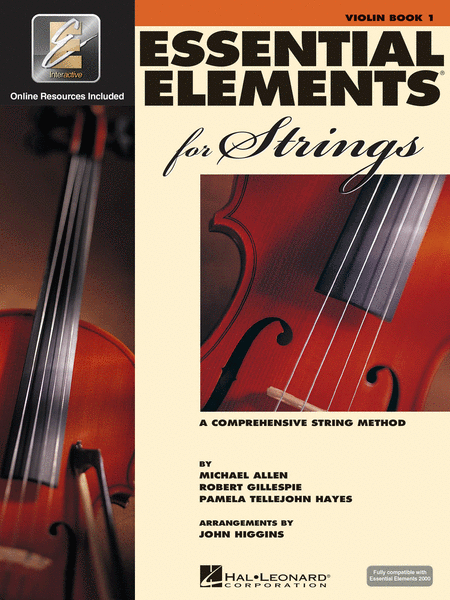 HL Violin Essential Elements for Strings Book 1