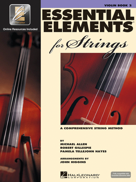 HL Violin Essential Elements for Strings Book 2