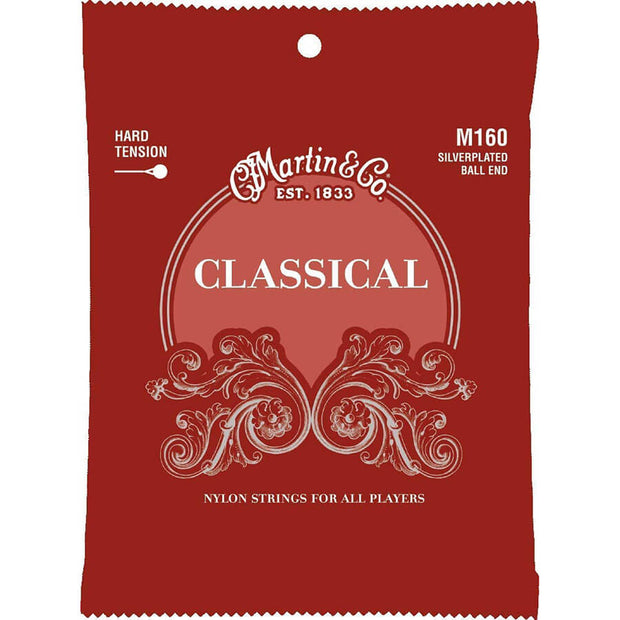 Martin Classical Guitar Strings - 160/6 Str B/E H