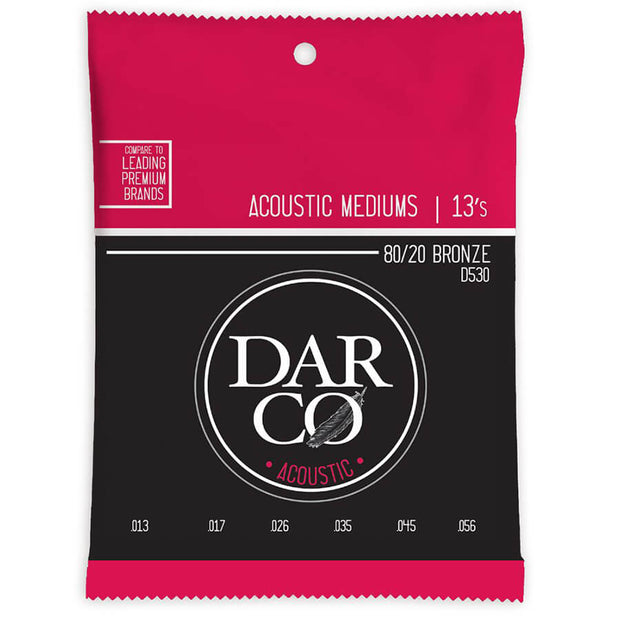 Martin Darco Acoustic Guitar Strings - 530 80/20 6 Str