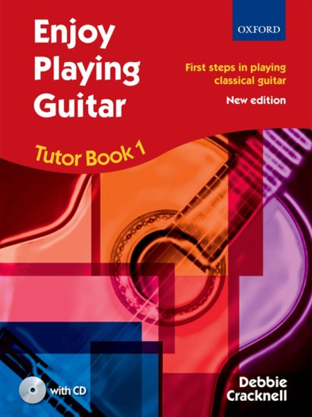 Oxford Enjoy Playing Guitar Tutor Book 1 W/CD