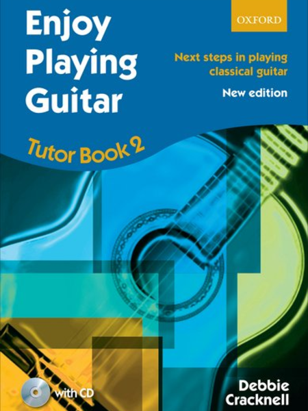 Oxford Enjoy Playing Guitar Tutor Book 2 W/CD