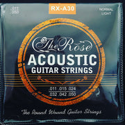 The Rose Acoustic Guitar Strings- RX A30