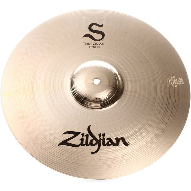 "Zildjian 15"" S Thin Crash - S15TC"