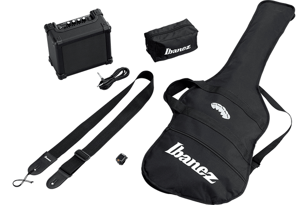 Ibanez IJRX20U Black Jumpstart Electric Guitar Starter Pack