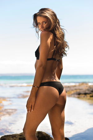 Black Sea - Cheeky Cut Bikini Bottoms