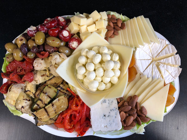 Vegetarian Cheese Platter