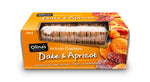 Olinas Date And Apricot Crackers 100g