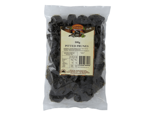 Yummy Pitted Prunes