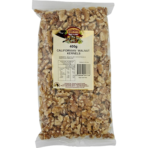 Yummy Walnut Kernals 400g