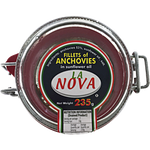 La Nova Fillets Of Anchovies 235g