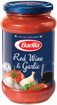 Barilla Pasta Sauce Red Wine & Garlic 400g