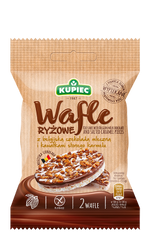 Kupiec Rice Crackers With Salted Caramel Pieces