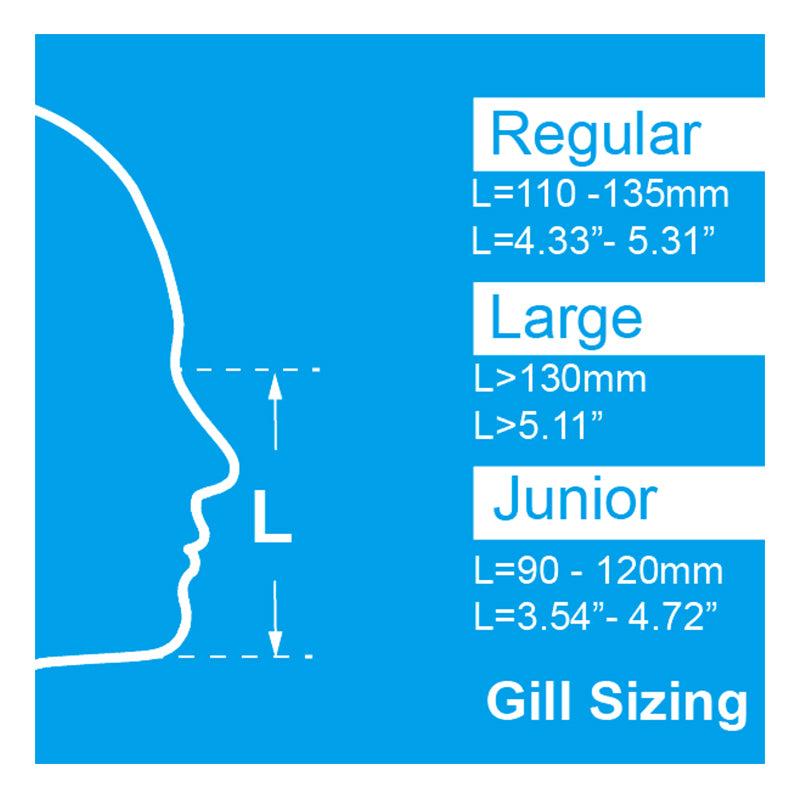 Gill™ Mask Junior (Filters not included)