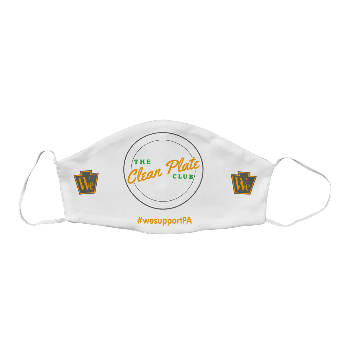 Clean Plate Club We Support PA Face Masks