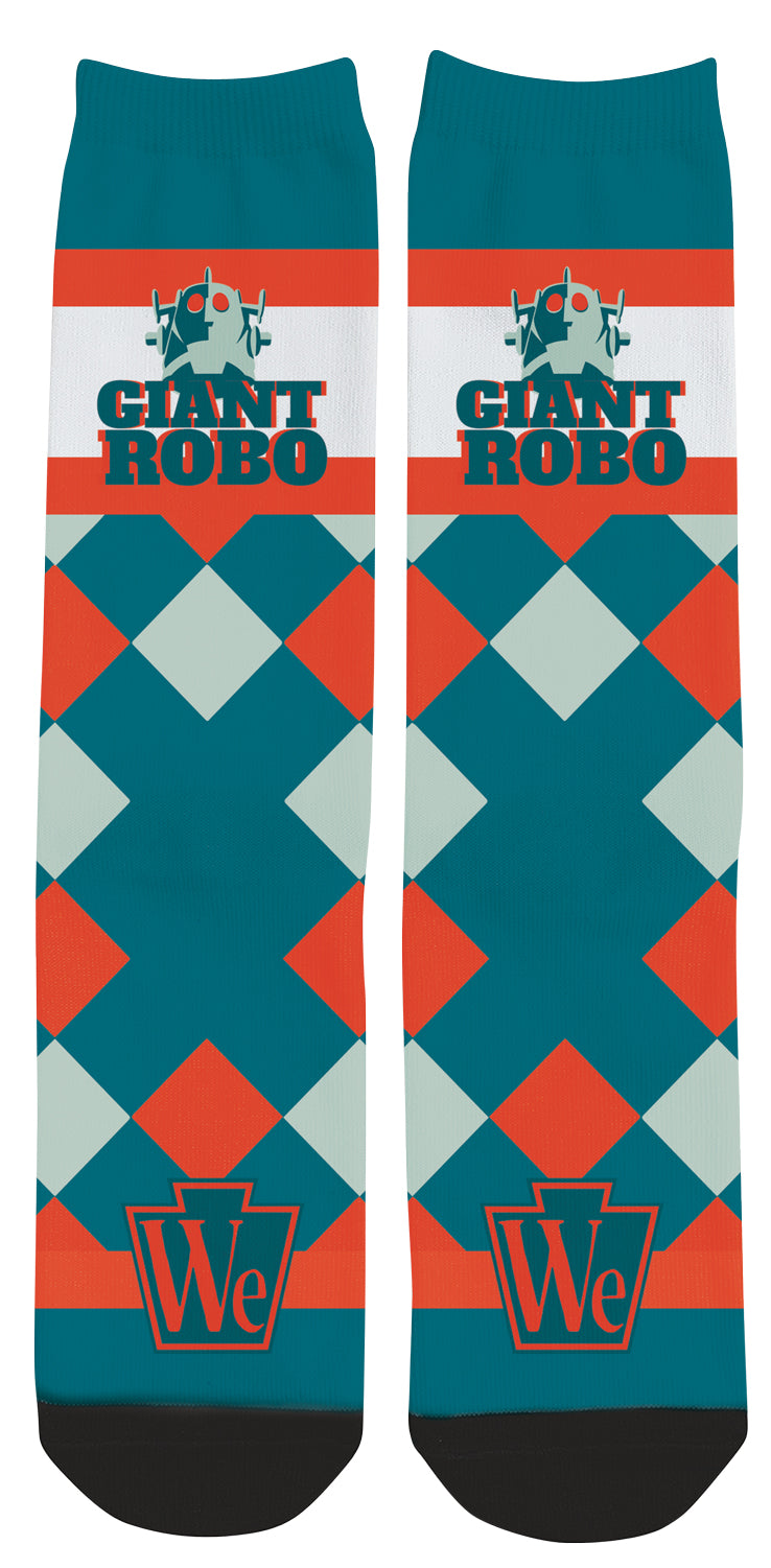 Giant Robo Printing We Support PA Dress Socks