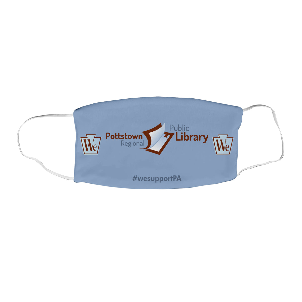 Pottstown Area Library We Support PA Face Masks