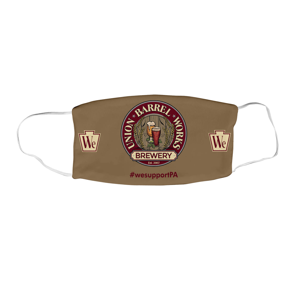 Union Barrel Works We Support PA Face Masks