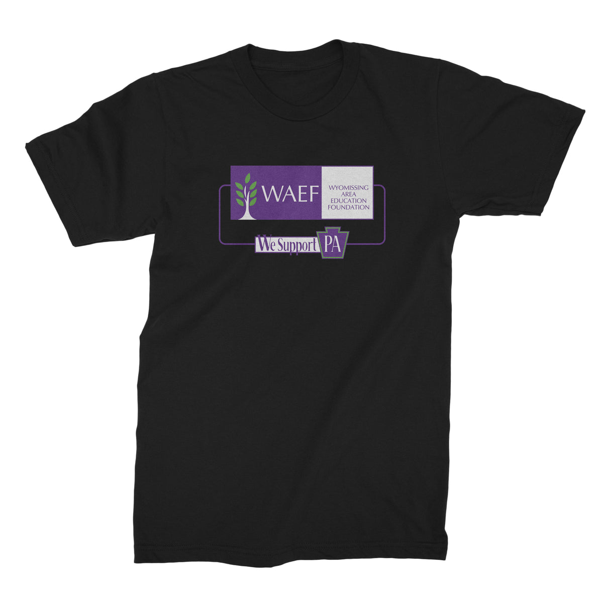 Wyomissing Area Education Foundation We Support PA T-Shirt