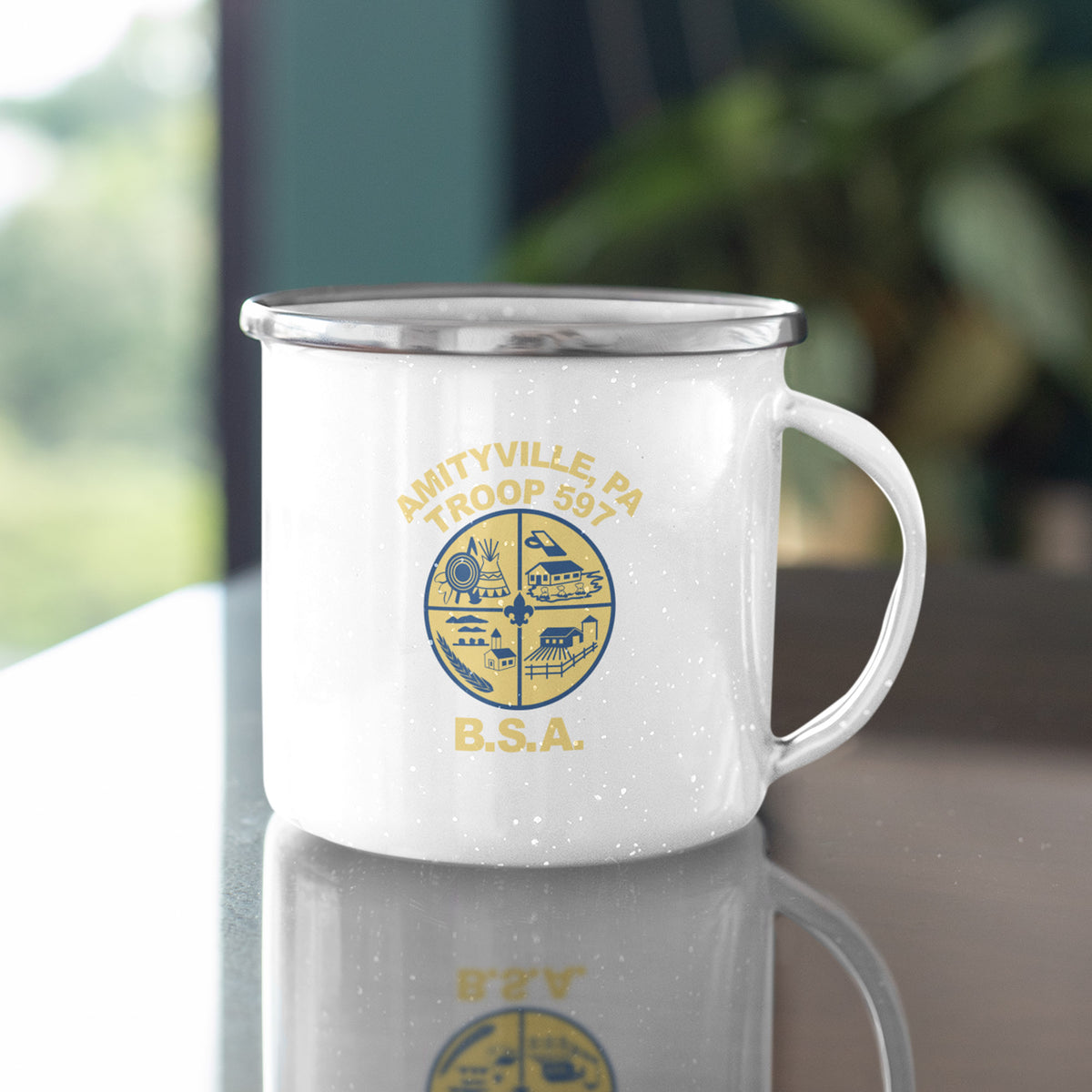 Boy Scout Troop 597 We Support PA Camp Mug