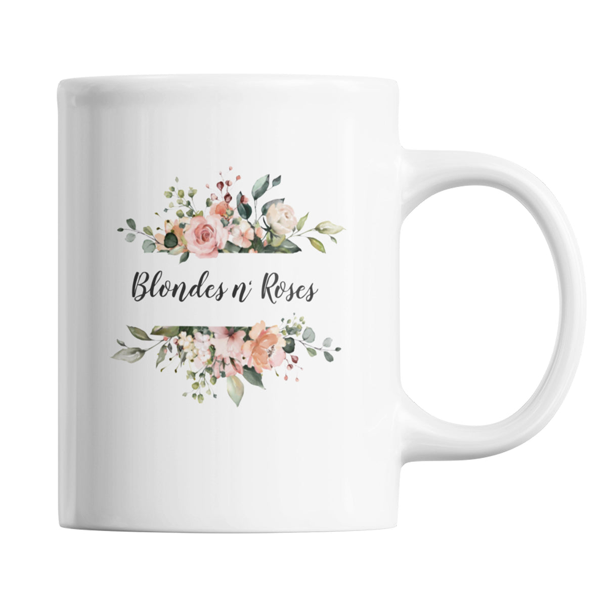 Blondes n' Roses We Support PA Coffee Mug