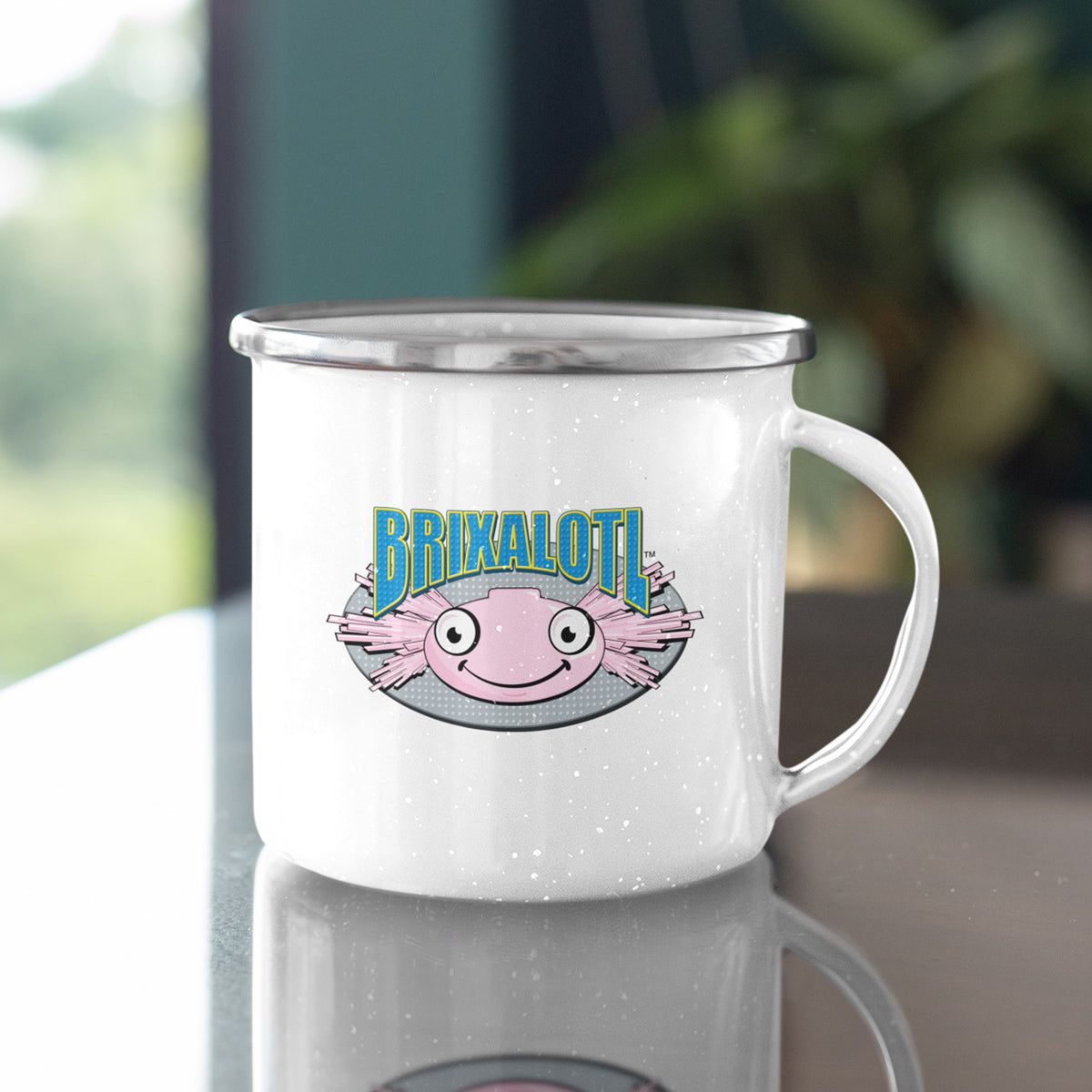 Brixalotl We Support PA Camp Mug