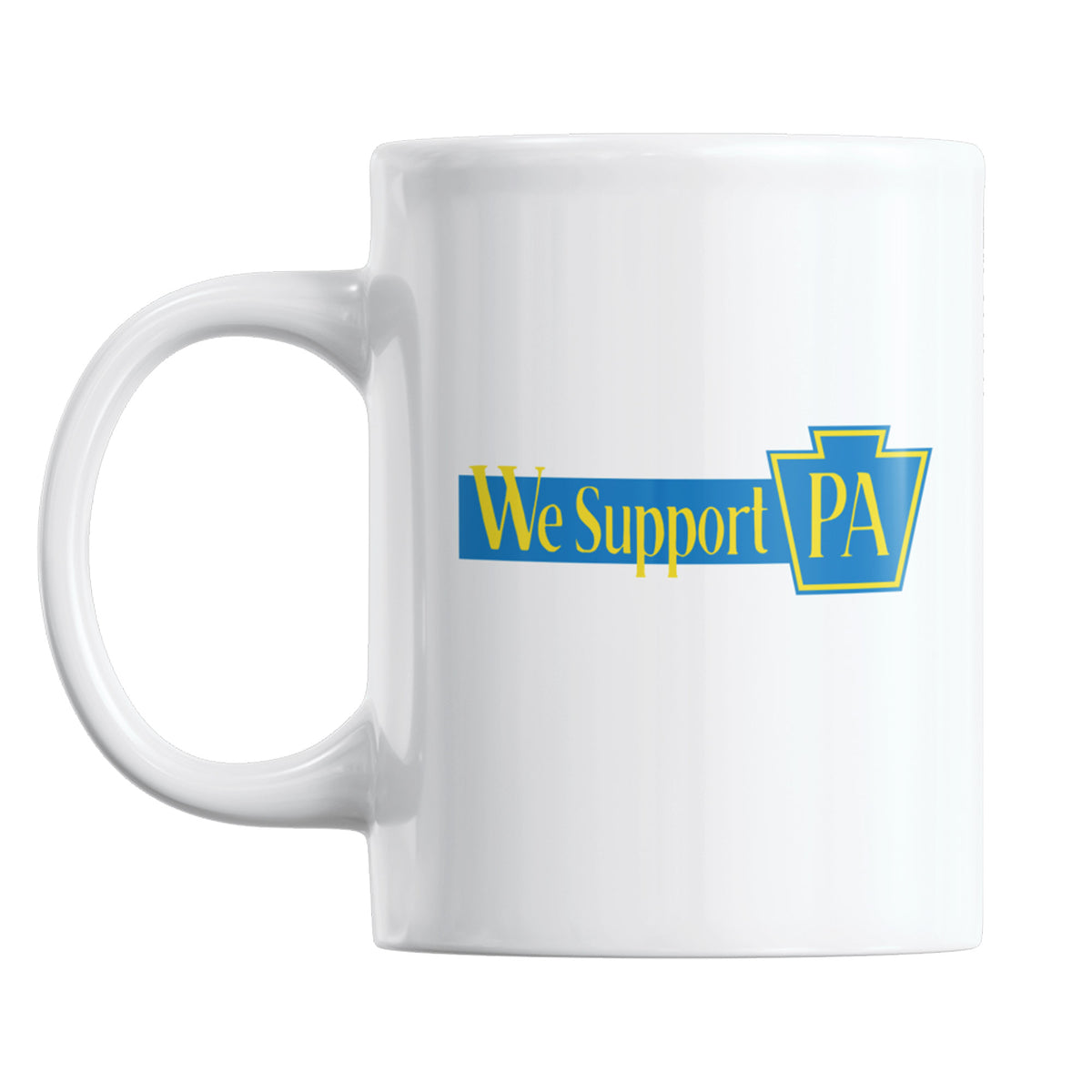 Brixalotl We Support PA Coffee Mug