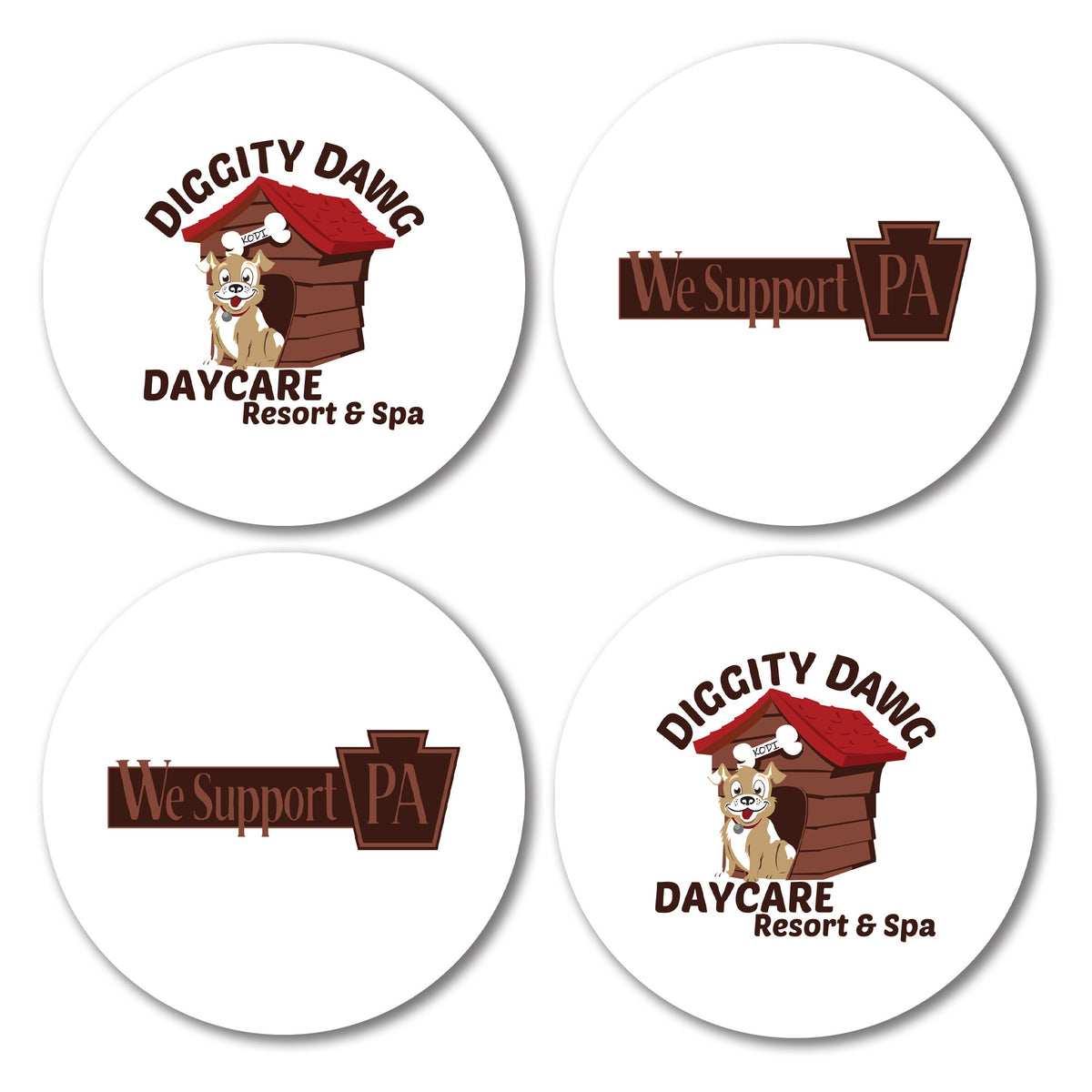 Diggity Dawg Daycare We Support PA Coasters