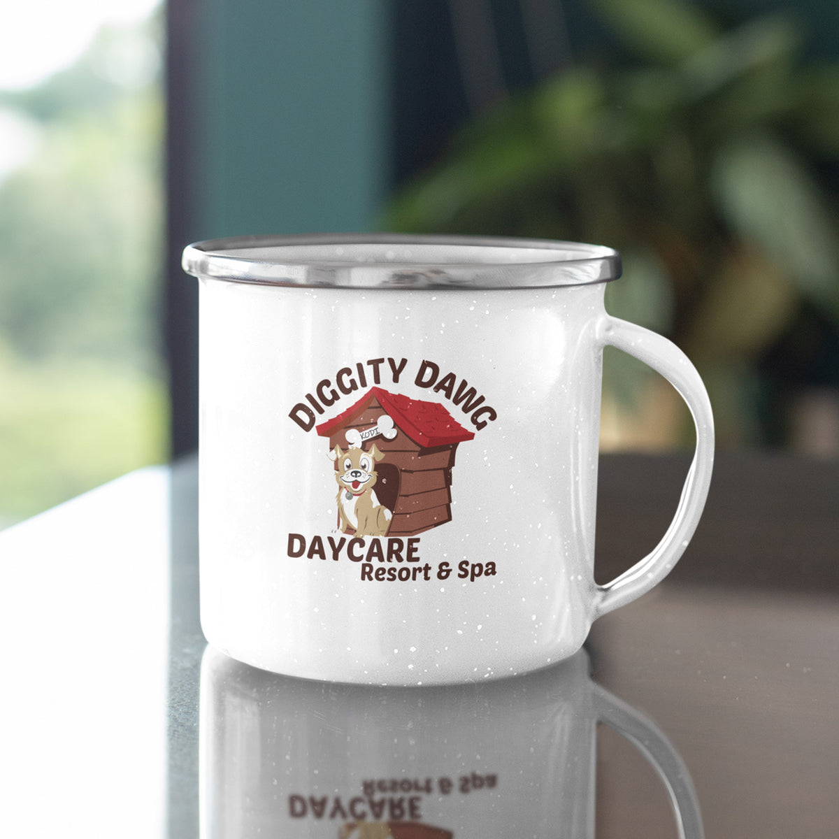 Diggity Dawg Daycare We Support PA Camp Mug