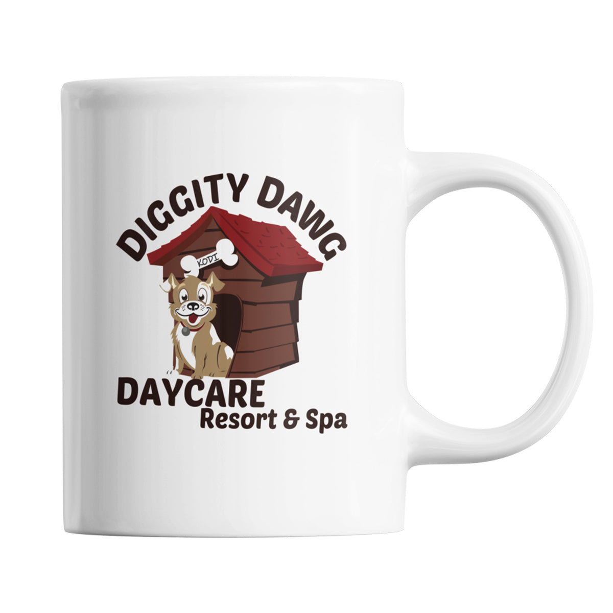 Diggity Dawg Daycare We Support PA Coffee Mug