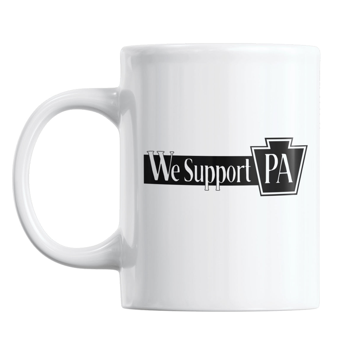 Delco Open Mic We Support PA Coffee Mug