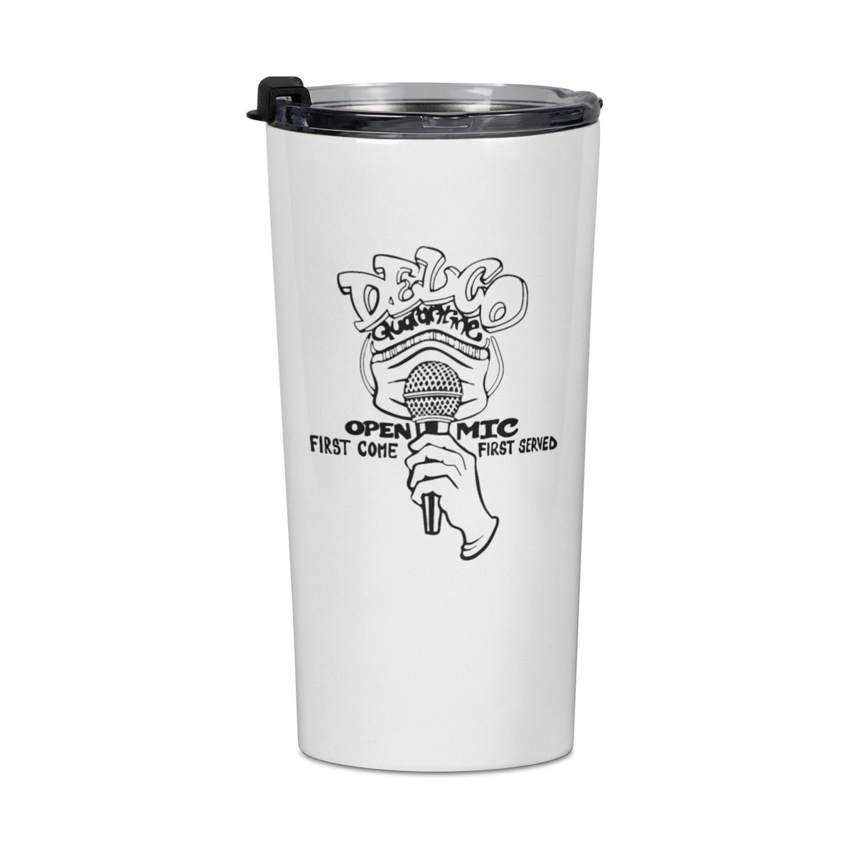 Delco Open Mic We Support PA Travel Mug