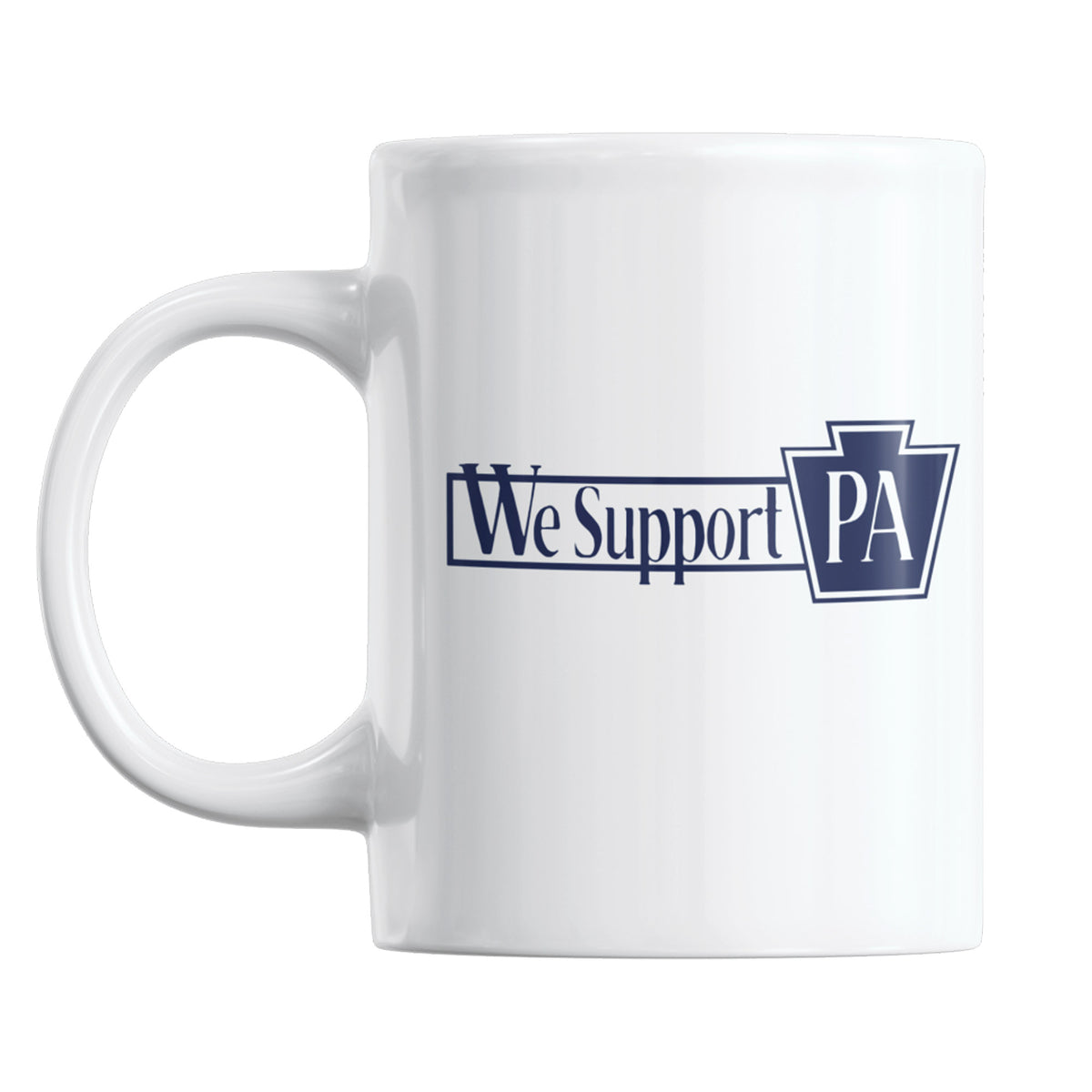 Evil Genius Beer Company We Support PA Coffee Mug