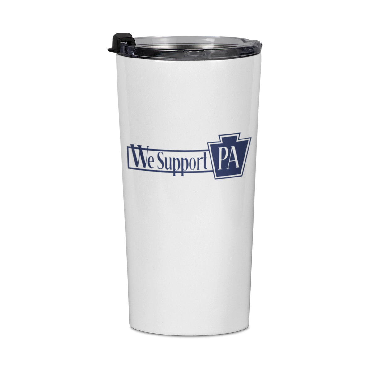Evil Genius Beer Company We Support PA Travel Mug