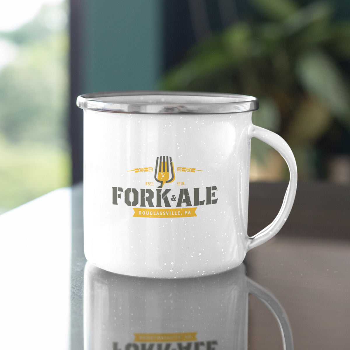 Fork and Ale We Support PA Camp Mug