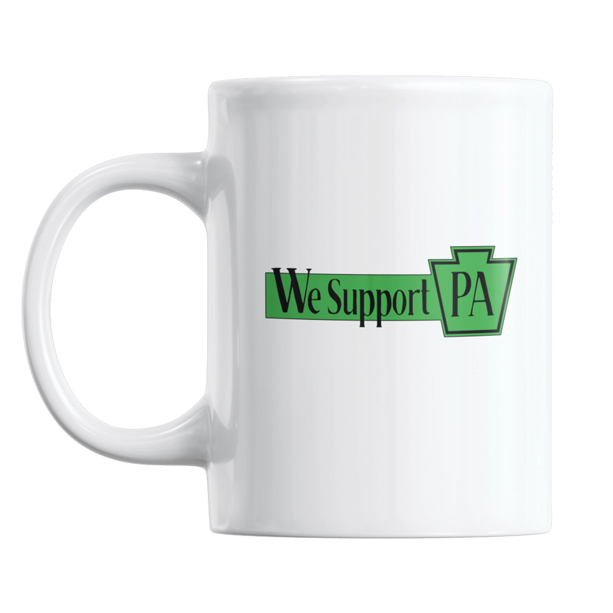Fishtown Pickle Project We Support PA Coffee Mug