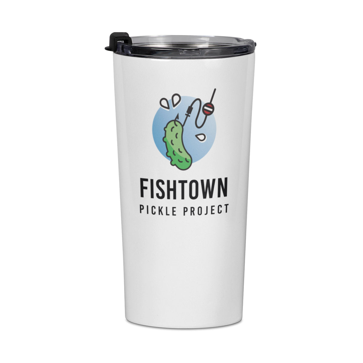 Fishtown Pickle Project We Support PA Travel Mug