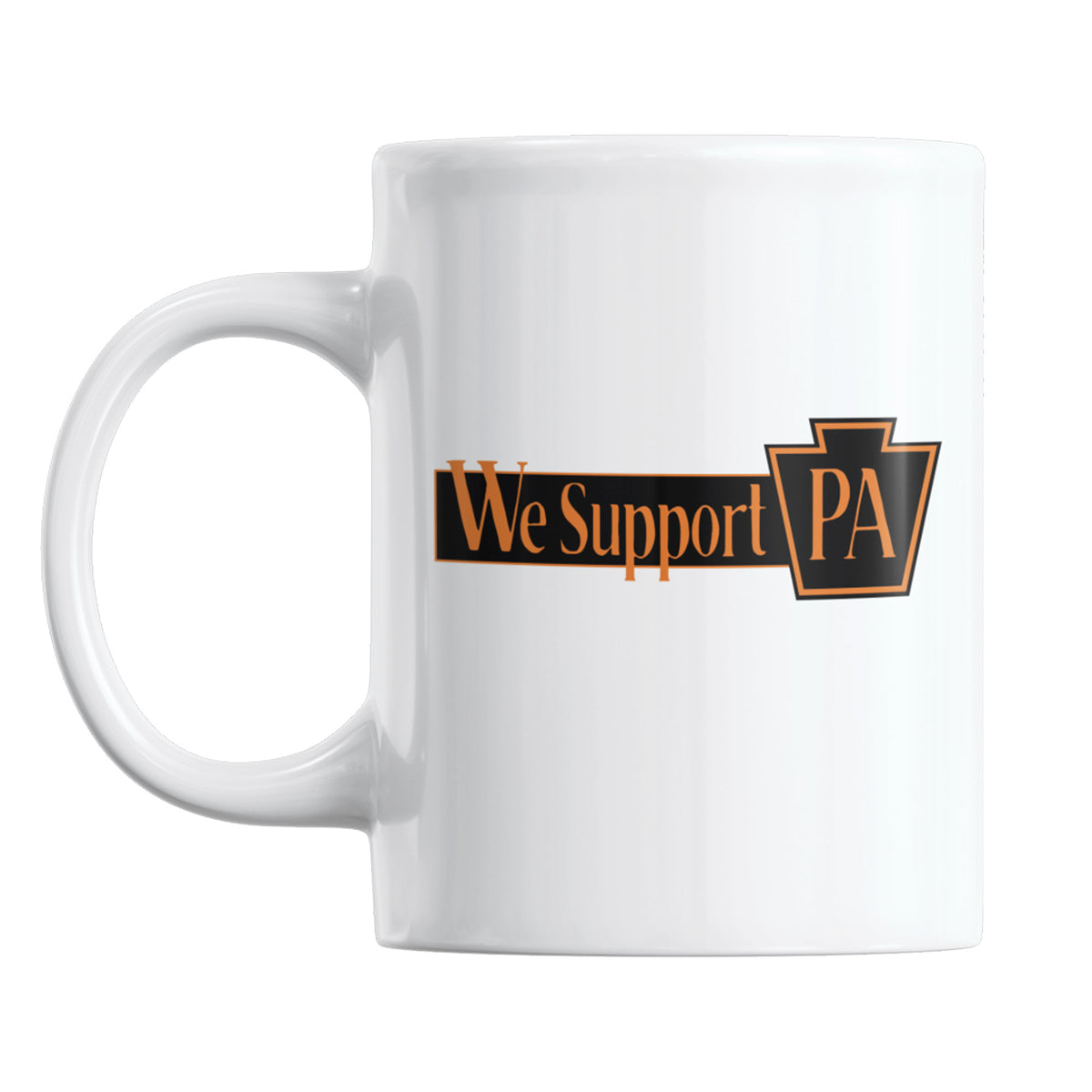 HiJinx Brewing We Support PA Coffee Mug