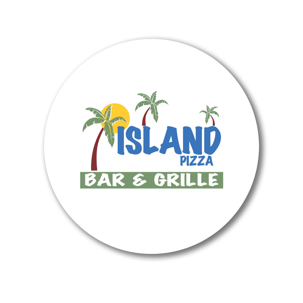 Island Pizza We Support PA Coasters